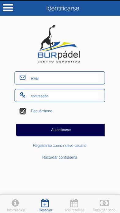 BurPadel Reservas screenshot 1