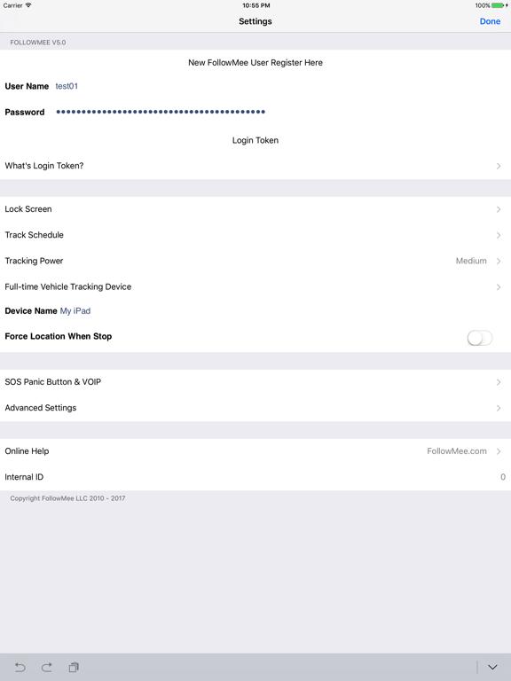 GPS Location Tracker for iPhone and iPad screenshot