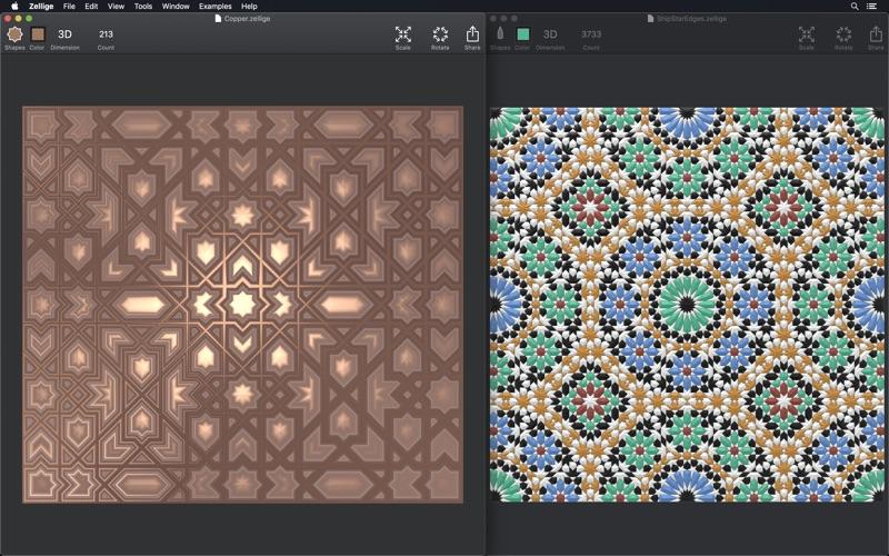 Zellige Polygon Mosaic Design review screenshots