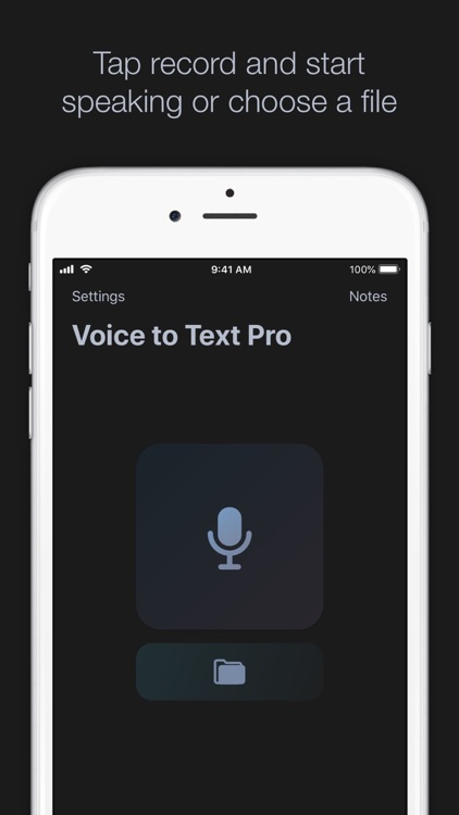Voice to Text Pro by Hugo Prione