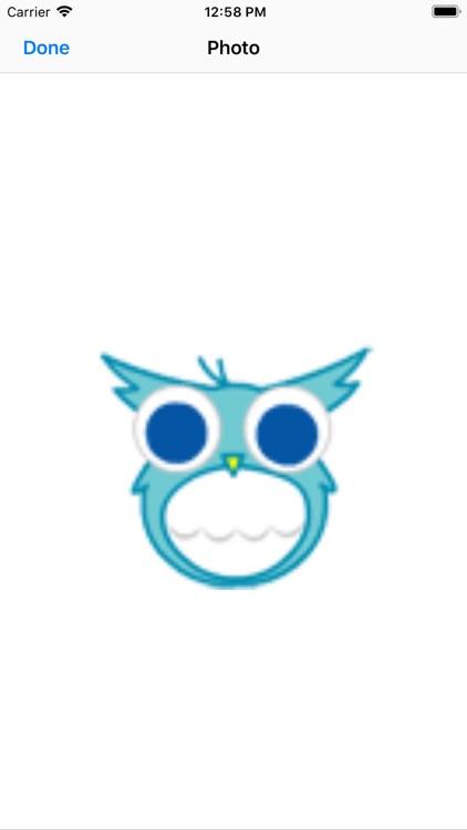 Dynamic blue cute bird-八一六 screenshot-5