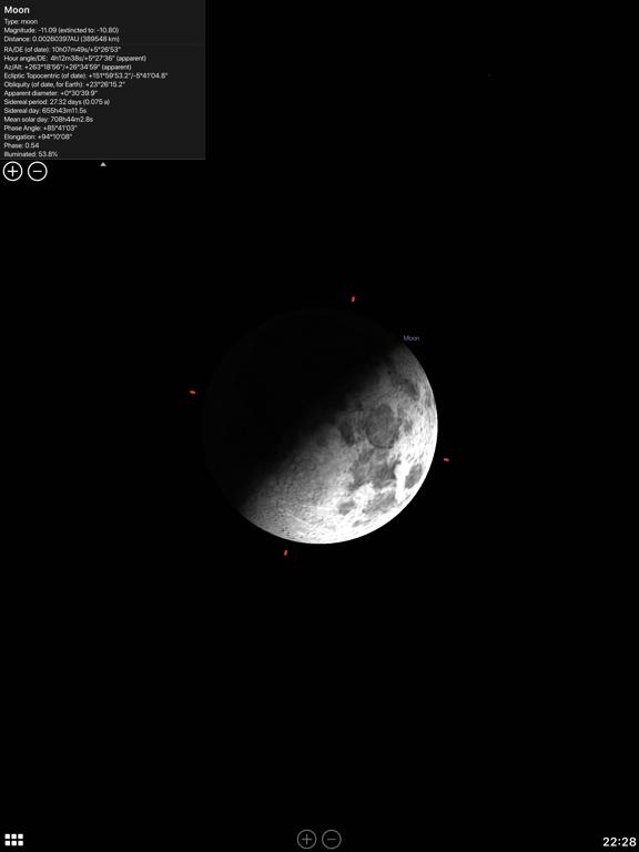 Stellarium Mobile Sky Map Screenshots