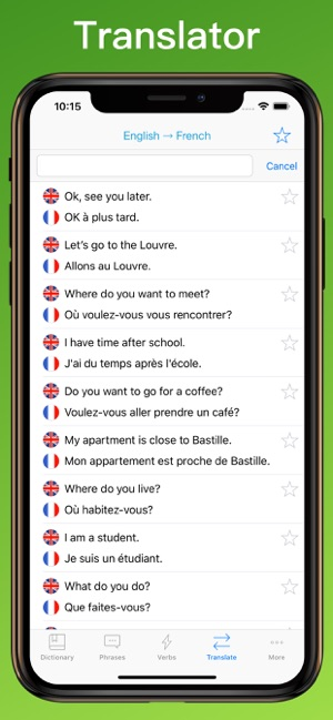 French Translator Dictionary + on the App Store