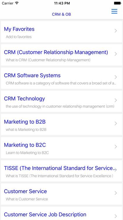 MBA CRM & OB screenshot-4