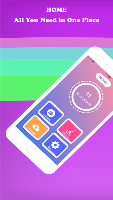 Super Cleaner - Clean Contacts screenshot one
