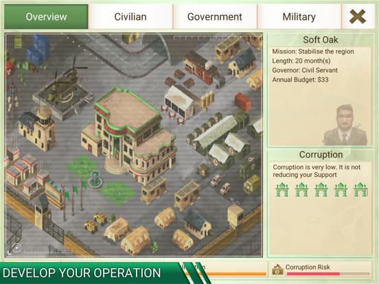 Rebel Inc. Screenshots