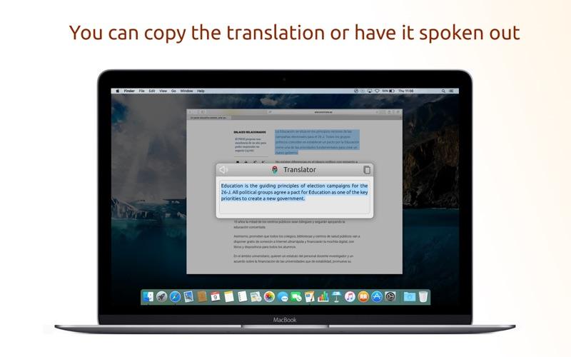 Translator with Speech Pro скриншот программы 4