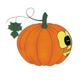 Pumpkin time stickers