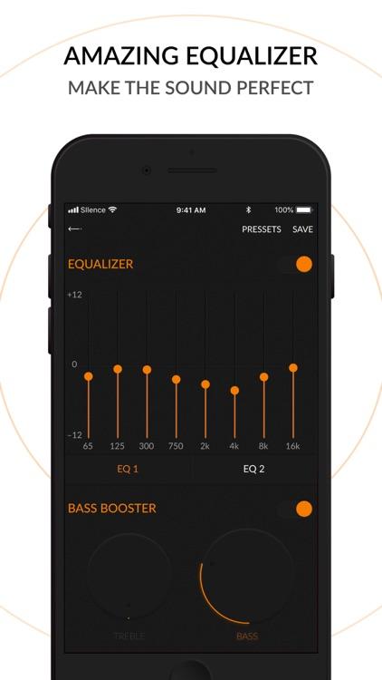 Music Player - Silence Music screenshot-3