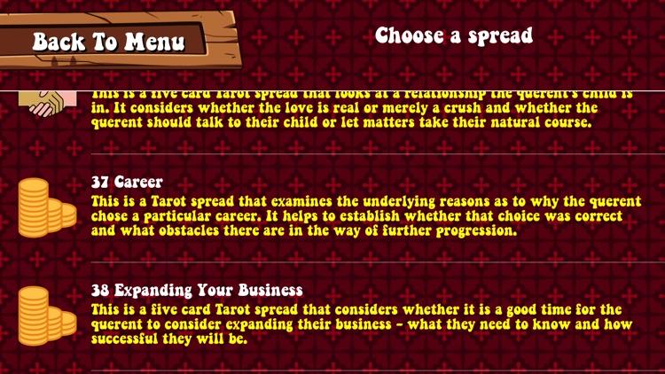 Real Tarot screenshot-3
