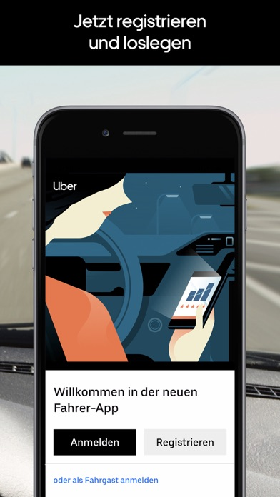Screenshot for Uber Driver - für Fahrer in Austria App Store
