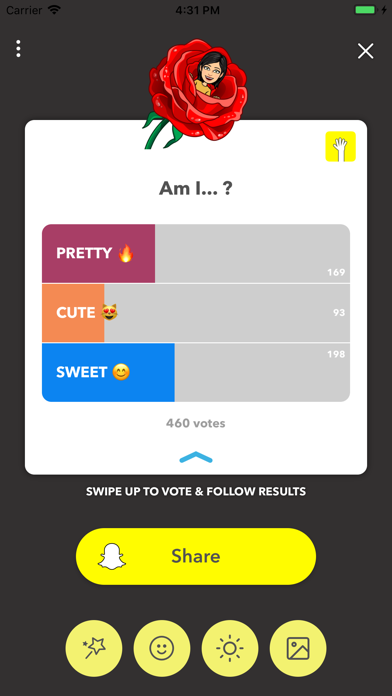 LMK: Anonymous Polls