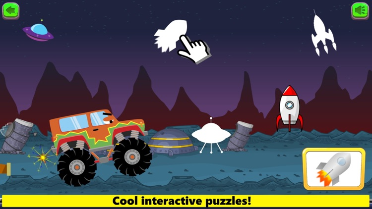 Monster Trucks Game Kids FULL screenshot-5