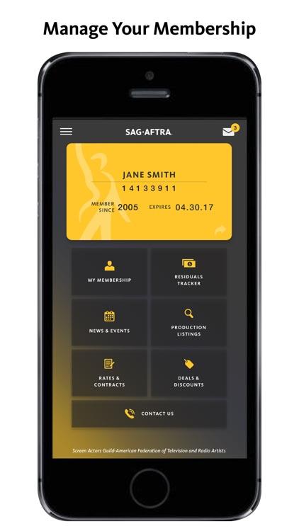 SAG-AFTRA Member App