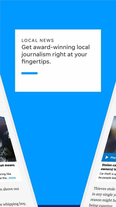 Post Crescent Screenshot on iOS