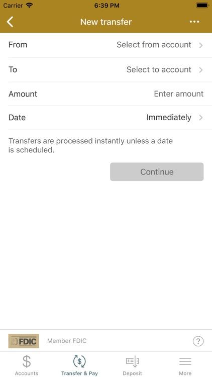 Summit Bank(OR) Mobile Banking screenshot-4