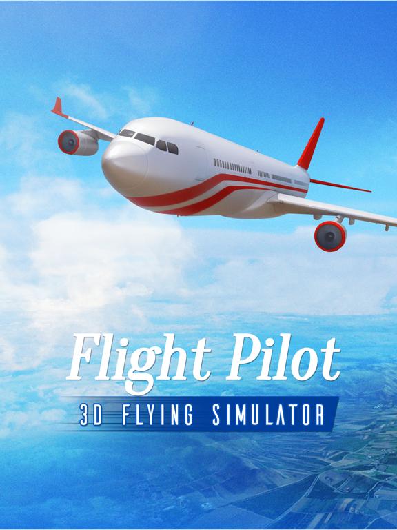 Flight Pilot Simulator 3D by Fun Games For Free screenshot