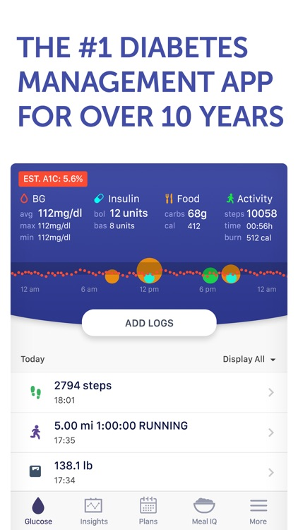 Glucose Buddy Diabetes Tracker screenshot-0