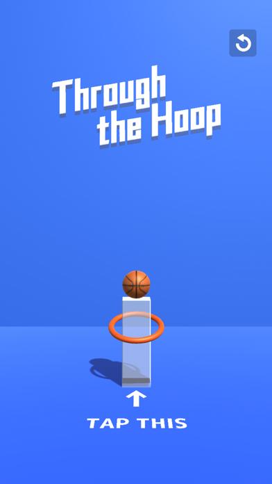 Through the Hoop - Tap & Break screenshot 1