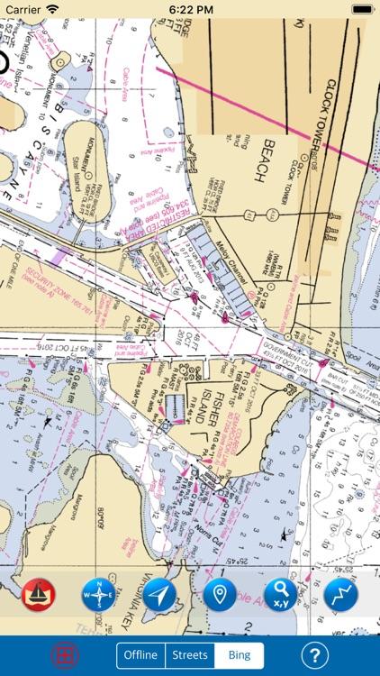 FLORIDA (South) - MARINE GPS