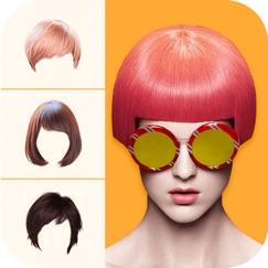 подбор прически - цвет волос Обзор приложения