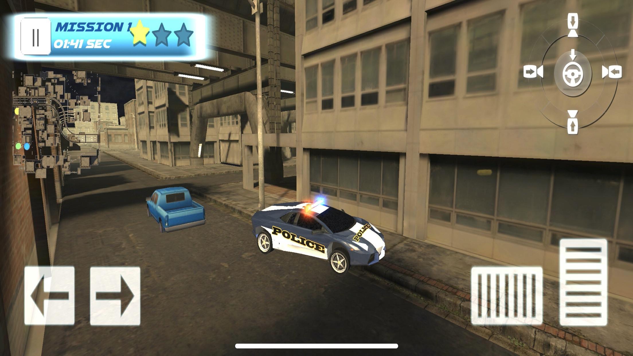 3DPolice Car Parking Screenshot