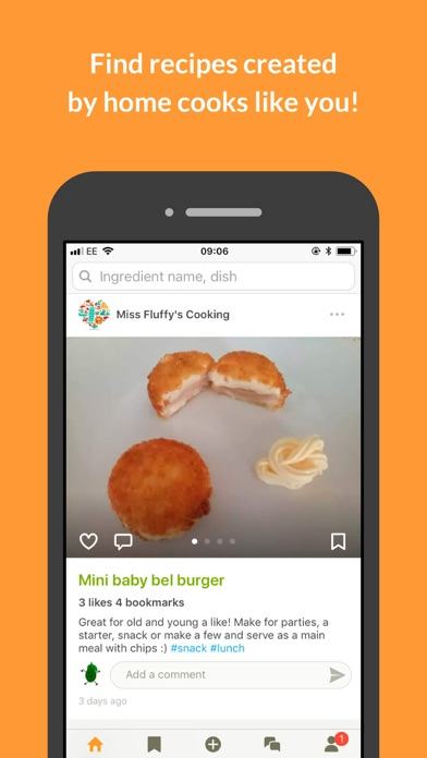 Cookpad review screenshots