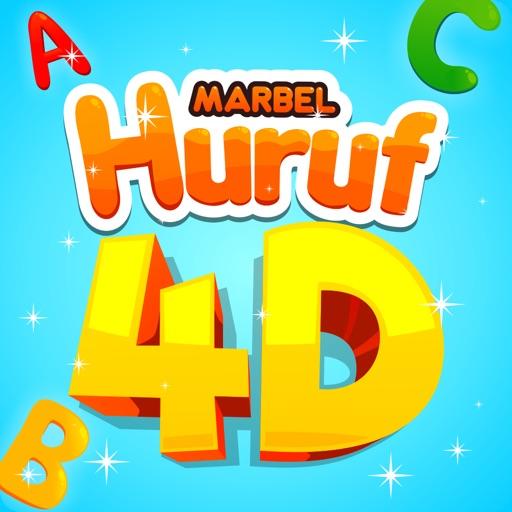 Marbel Huruf 4D
