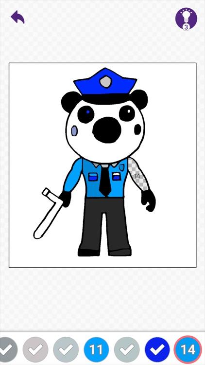 Piggy Coloring And Drawing! screenshot-3
