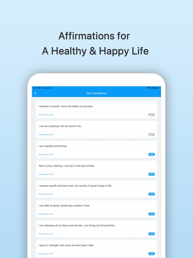 Subliminal: Affirmations on the App Store