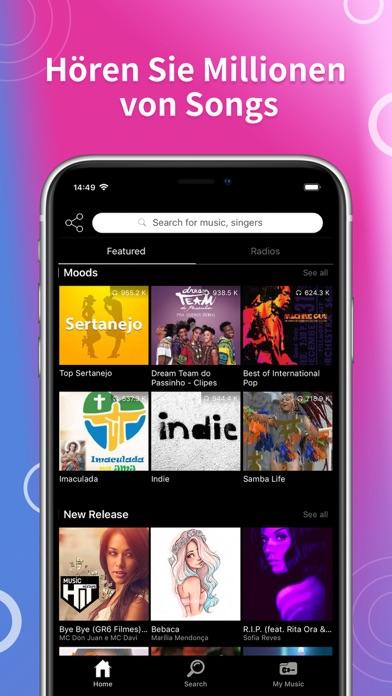 Screenshot for Young Radio Zango in Germany App Store