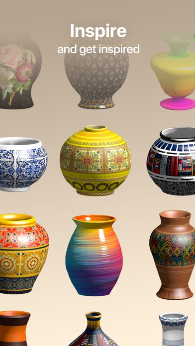 Pottery.ly 3D– Ceramic Maker Screenshot