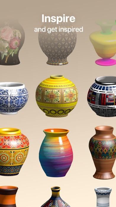 Pottery.ly 3D– Ceramic Maker screenshot 1