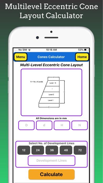 Cones Calculator screenshot 8