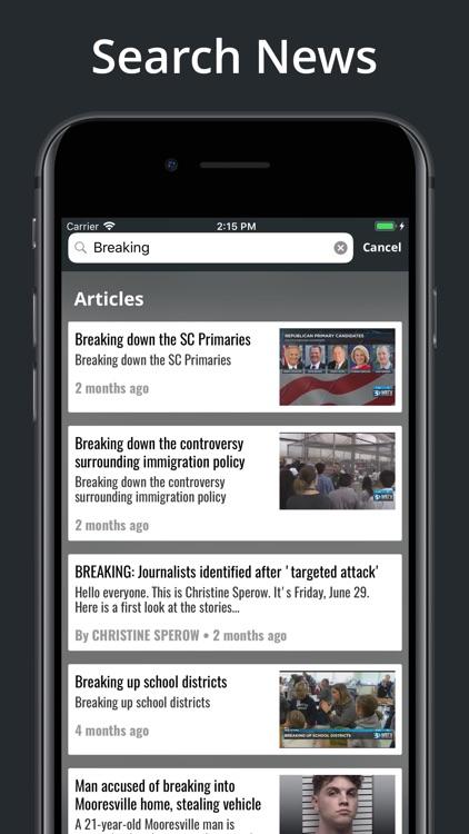 WBTV 3 Local News On Your Side screenshot-5