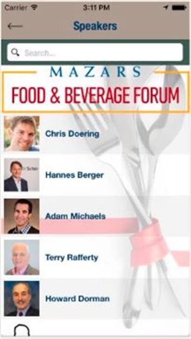 点击获取Mazars Food & Beverage Forum