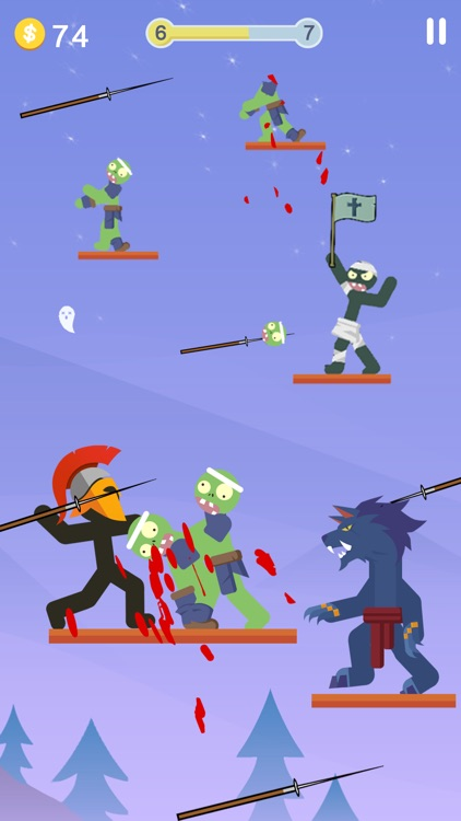 The Warrior - Top Stickman screenshot-0