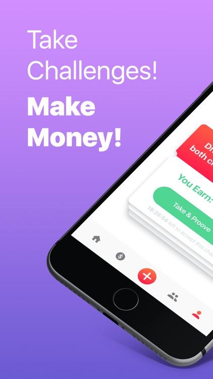 Dare App: Money for Challenges screenshot-0