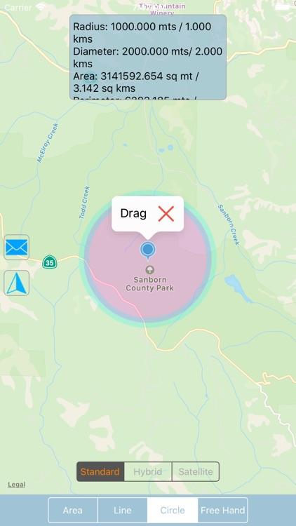 Map Geo-Measure & Shape Tool