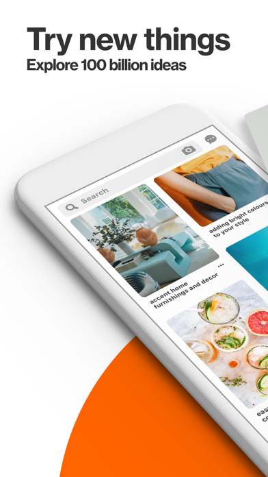 Screenshot for Pinterest in Canada App Store
