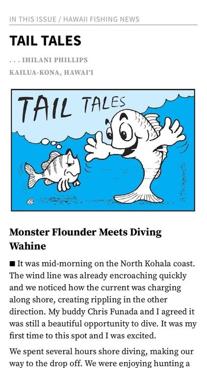 Hawaii Fishing News Magazine screenshot-3