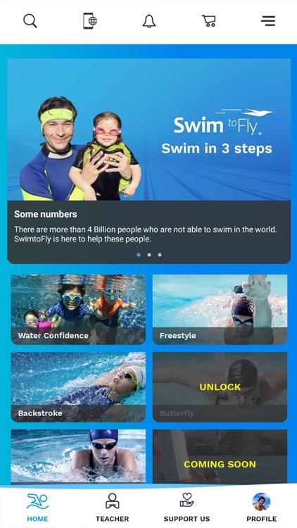 SwimtoFly   Learn how to swim