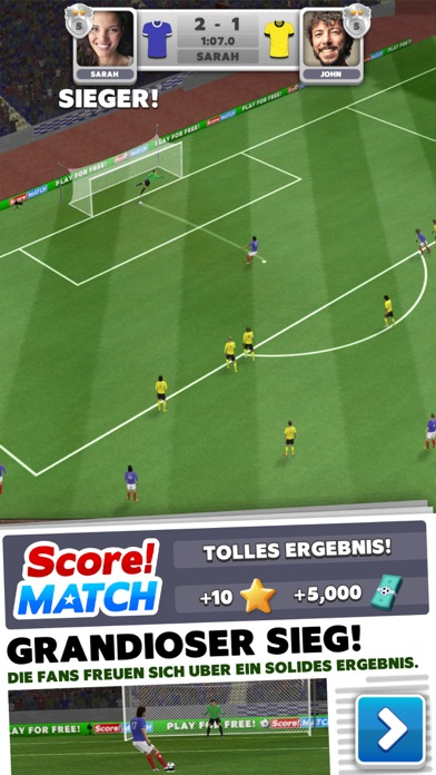 Score Fußball