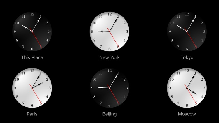 The Clocks: Alarm, World Clock screenshot-3