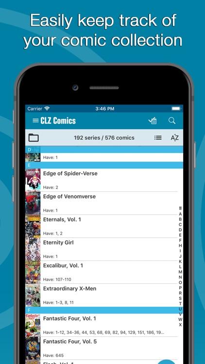 CLZ Comics - Comic Database screenshot-0