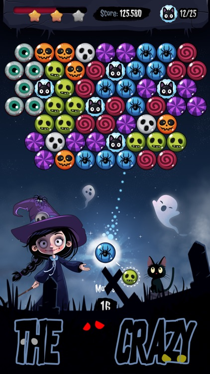 Witch Bubble Shooter 2020