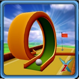 Retro Mini Golf Master