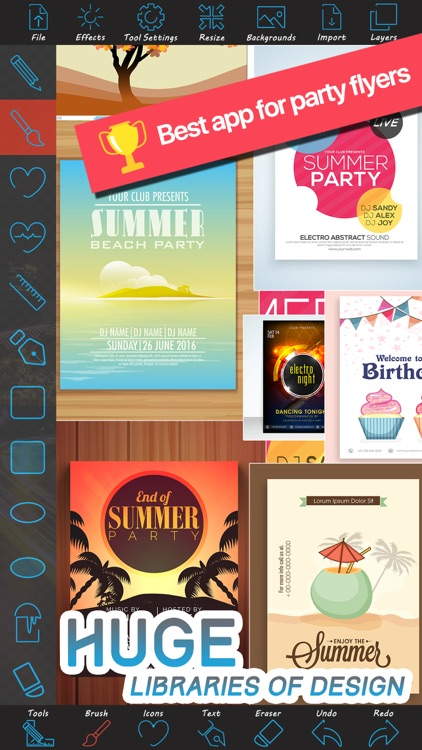 Party Flyer Creator
