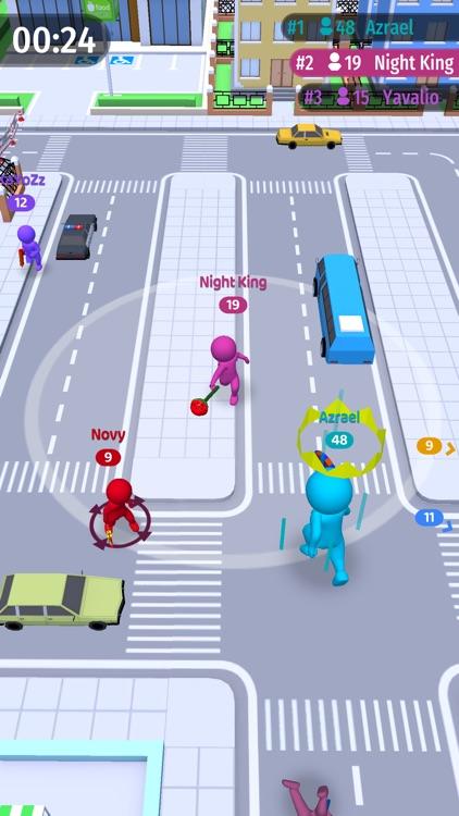 Move.io - Move Stop Move