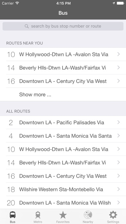 LA Metro and Bus screenshot-4